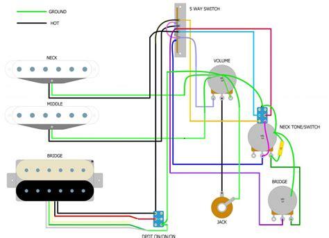 highway 1 fender stratocaster wiring diagram fender lead