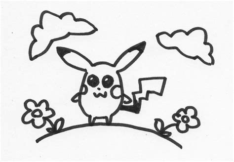 Pikachu . Fairy tale characters. Drawings. Pictures