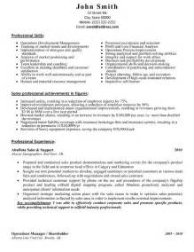 Household Assistant Sle Resume by Sales And Support Assistant Resume Template Premium Resume Sles Exle