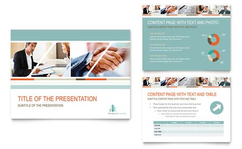 Management Consulting Powerpoint Presentation Powerpoint Template Powerpoint Microsoft Templates