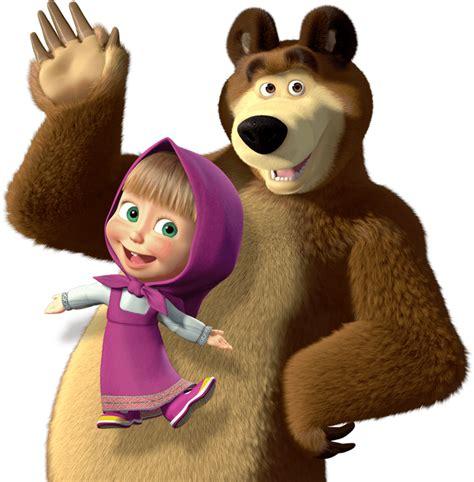 imagenes png masha y el oso masha y el oso 43 png 786 215 800 osos pinterest