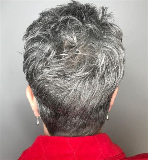 different sized women with gray hair with low light styles 90 classy and simple short hairstyles for women over 50