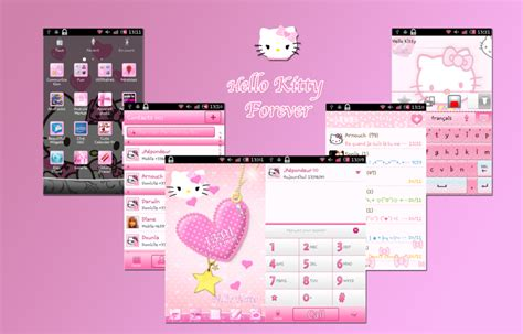 facebook themes hello kitty for android hello kitty theme android by ladypinkilicious on deviantart