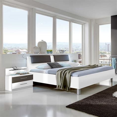 polster für kopfteil bett schlafzimmer lila wei 223 schwarz