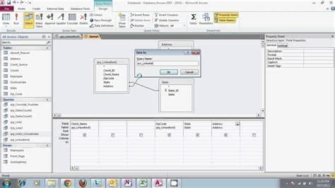 ms access concatenate fields in table microsoft access 2010 queries and the