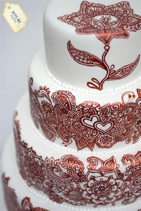 henna design wedding cake mehndi close rs logo cakecentral com