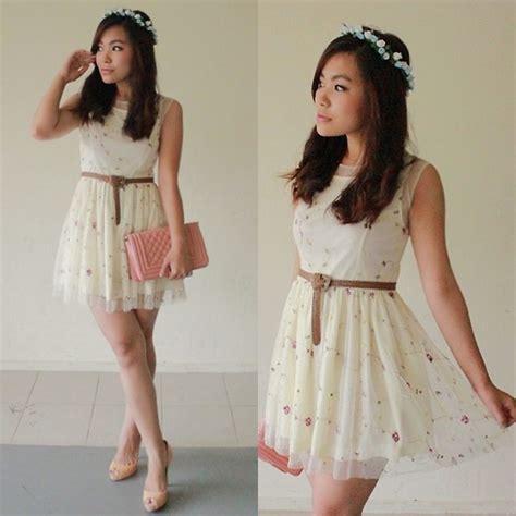 Dress Mitun Pita Flower pita w instagram isletsflakes flower crown flower mesh dress quilted bag whimsical