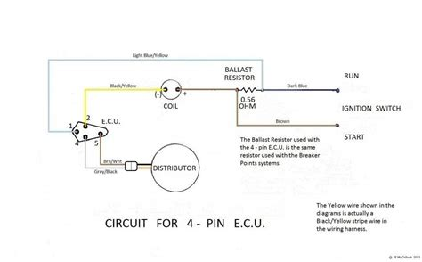 mopar msd 6al wiring diagram electrical schematic