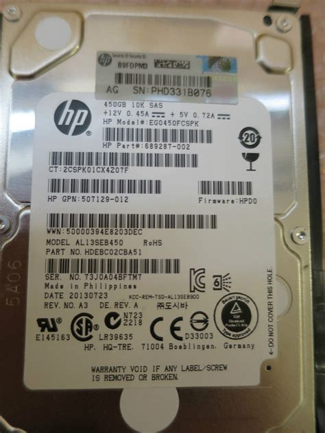 300gb 25 Inch Serial Attached Scsi Sas Sff 6g 10k 627195 001 sas hp 300gb 15k rpm 2 5 6g dp sas 627117 b21