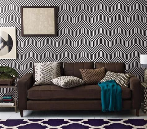 black and white wallpaper pattern for room geometric black and white wallpaper wallpapersafari