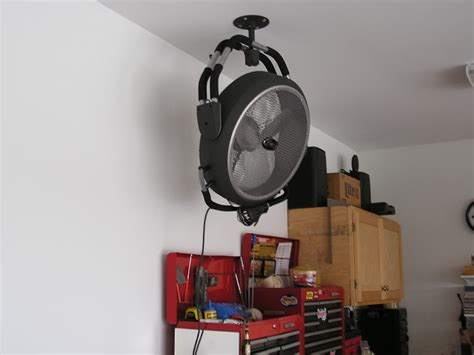 ceiling fan for garage 6 ways to make your garage more temperature proof how to