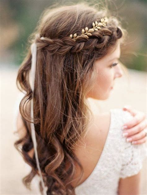 goddess braid wedding white 25 best ideas about grecian hairstyles on pinterest