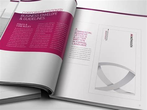 manual layout design inspiration 50 pretty brochure design sles and inspiration