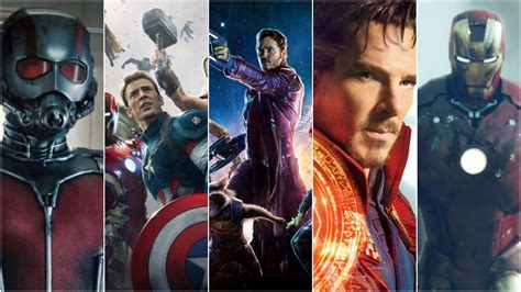 best marvel movies marvel cinematic universe movies ranked from black