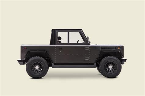 bollinger b1 bollinger b1 is half electric suv half electric pickup