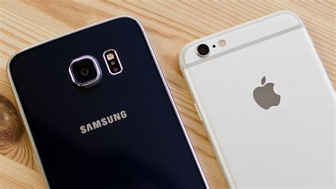 iphone 6s vs samsung galaxy s6 comparison macworld uk