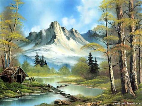 bob ross paintings hd manzara yal boya gzel manzara resimleri