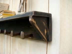 regal rustikal cottage chic shelf rustic shelving by honeystreasures