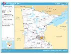 Minnesota Map Usa by Map Of Minnesota Street Map Worldofmaps Net Online