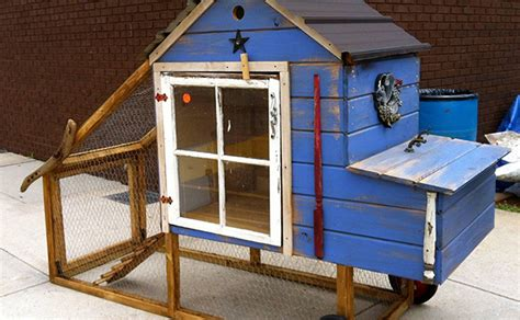 Handmade Chicken Coop - what were thankful for