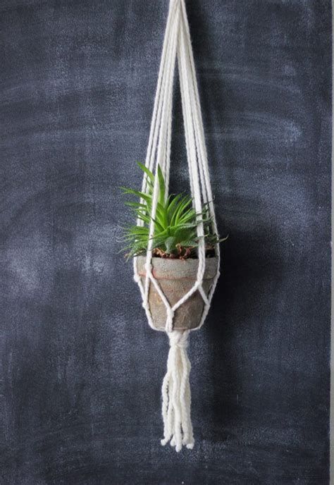 Easy Macrame Projects For - 25 best ideas about macrame plant hangers on
