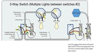 can i power a single pole switch from the end of a 3 way home improvement stack exchange