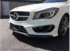 Mercedes C117 CLA250 CLA45 AMG Carbon Fiber Front Lip Spoiler Cla 45 Review