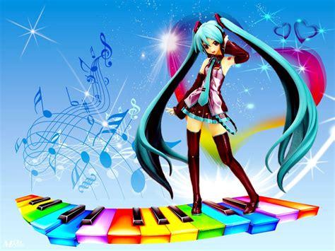 anime music girl wallpaper anime girl wallpaper and music cute anime photo