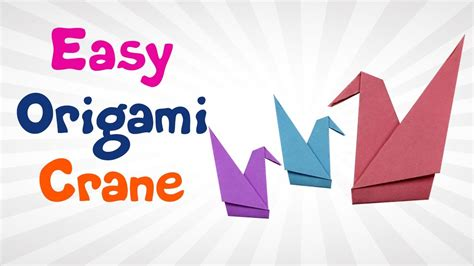 Origami Crane Easy Step By Step - diy origami crane step by step how to make