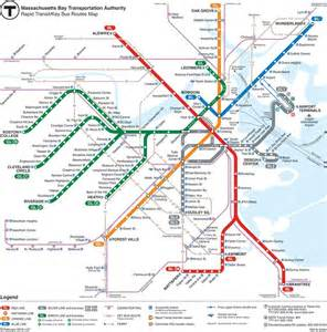 Map Of Boston T by How To Use The Boston Subway Map And Tips Free Tours