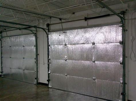 Insulation Panels For Garage Doors Easy Ways To Apply Garage Door Insulation Panels Home Interiors