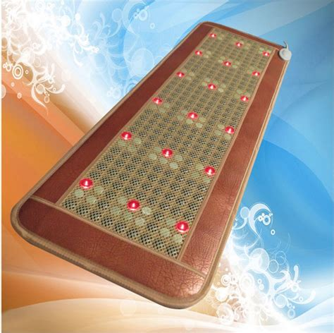 photon bed photon light far infrared hot stone heated massaged bed