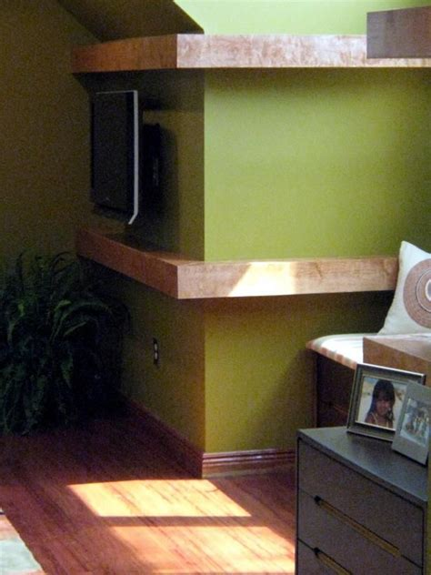 Wrap Around Bookcases With Cabinets Build Floating Shelves To Wrap Around A Corner Wall