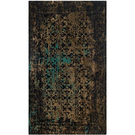 Area Rugs 3 X 5 by Classic Vintage Black Olive 3 Ft X 5 Ft Area Rug 78