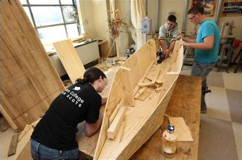 local woodworking classes a new twist on shop class in topsfield building boats