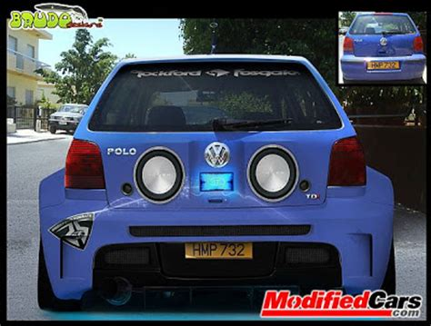 volkswagen polo modification parts virtual car modification online oto news