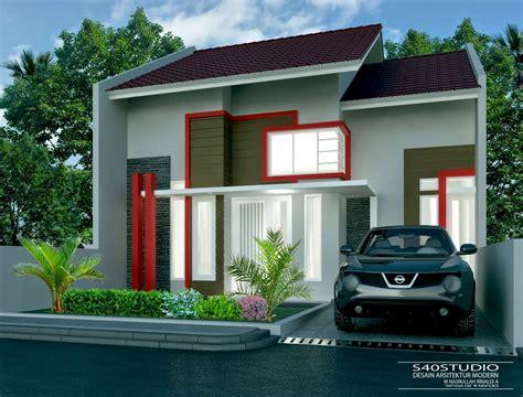 desain depan rumah lebar 8 meter desain rumah 8 x 15 meter desain rumah minimalis modern