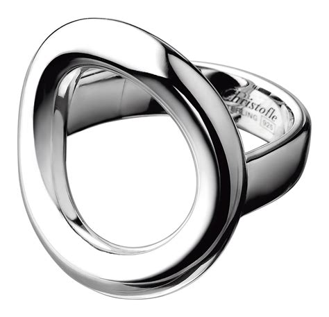 bijoux christofle bague silver rings