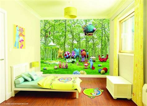 bedroom murals uk new uk children s wallpaper mural quot walltastic quot in the