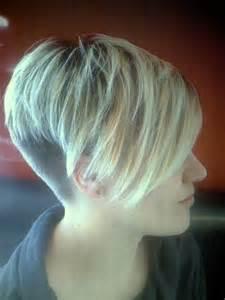 kurzhaarfrisuren damen langes deckhaar langen haaren zum sidecut frisur