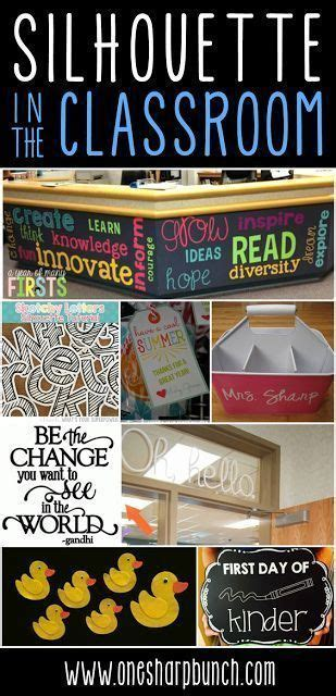 silhouette cameo projects   classroom silhouette