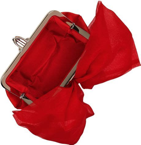 Christian Louboutin Satin Clutch by Christian Louboutin Satin Clutch In Lyst