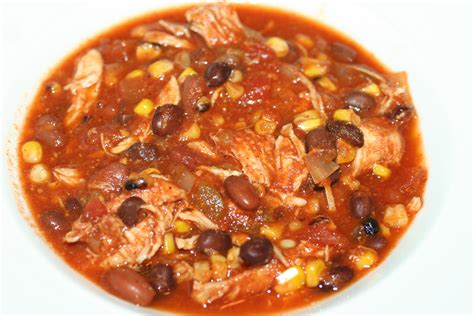 crock pot chicken taco chili recipe dishmaps