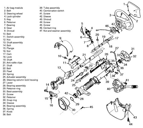 steering column play in 1990 lx 5 0 forums at modded