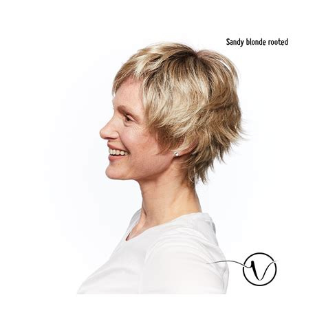 front flip hair ellen wille short wig lace front flip monofilament