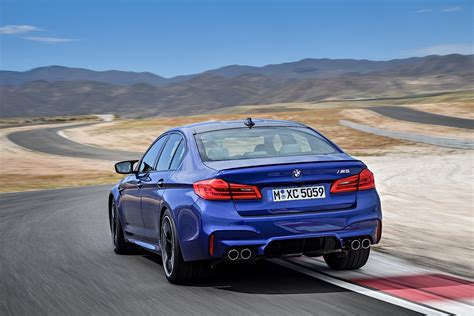 new bmw 2018 m5 2018 bmw m5 unveiled with 600 ps awd and rwd autoevolution