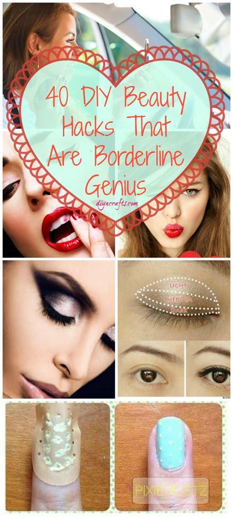 the craft diy hair and 40 diy hacks that are borderline genius diy crafts