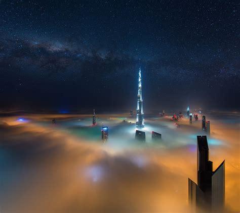 designboom tumblr dubai skyscrapers form celestial cityscape in daniel