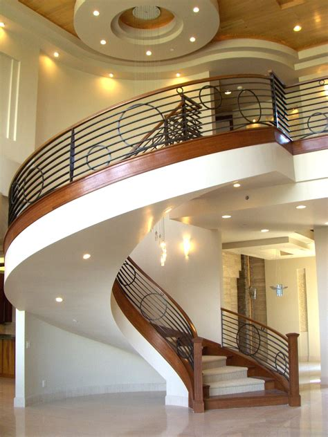 staircase design inside home charming circular style staircase design with black iron