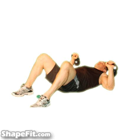 kettlebell bench press chest press alternating kettlebell exercise guide with